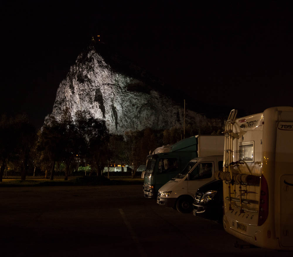 The Rock At Night