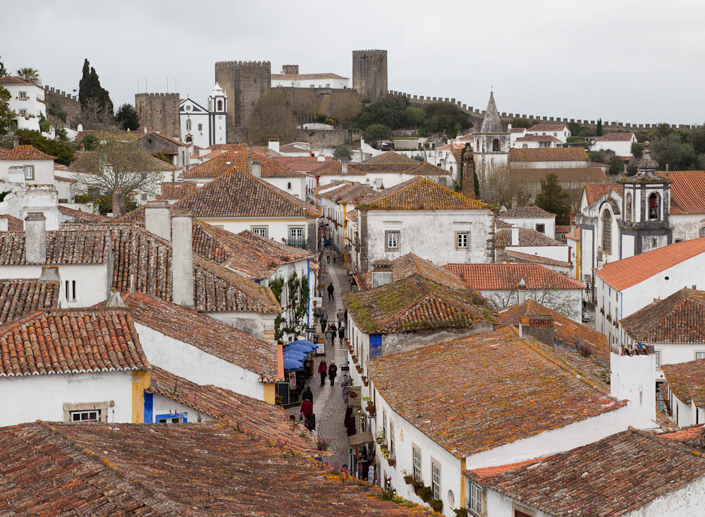 View Through Obidos