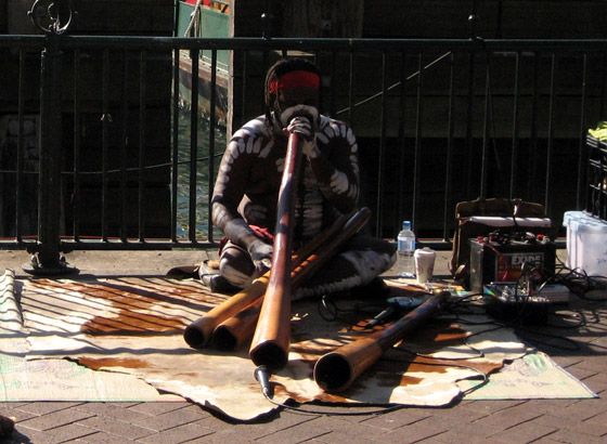 Abbo with Didgeridoo