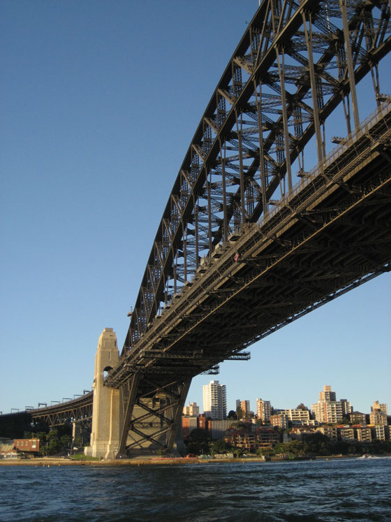 Sydney Harbour Bridge Closeup