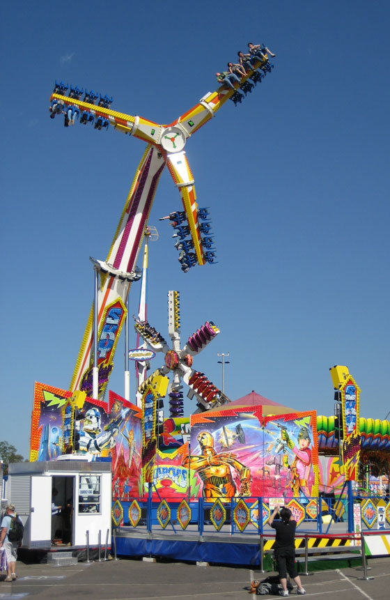 Insane Carnival Ride