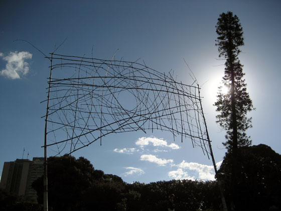 'Mooncatcher' - Art On Display In The Grounds